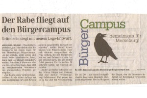15.02.2013 Der Rabe fliegt auf den BürgerCampus