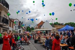 """""""Wünsch dir was"""" Luftballon-Aktion - BürgerCampus III"""